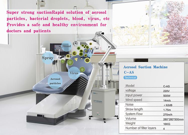 CAS  Oral surgical aerosol suction machine