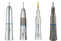 Straight handpieces